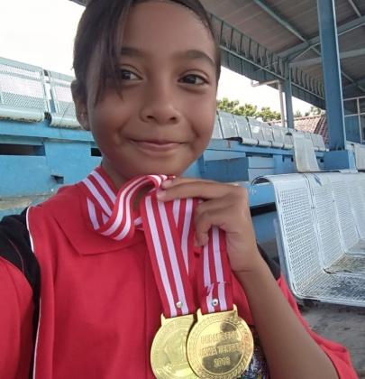 Tiara,Seorang Atlet Renang  Penyandang Disabilitas