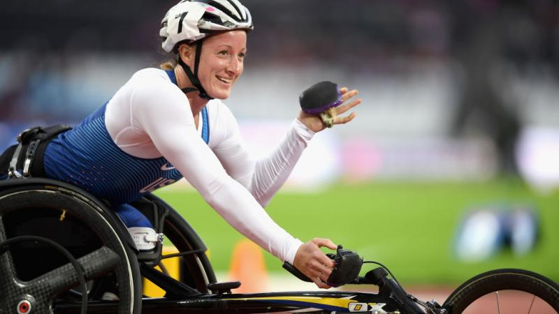 Tatyana, Atlet Balap Kursi Roda Penyandang Disabilitas