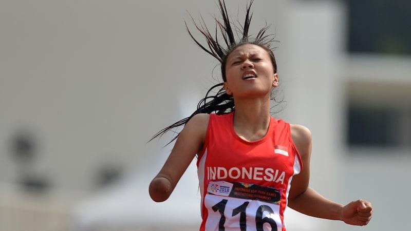 Nanda Mei Sholihah, Atlet Difabel Cantik yang Menginspirasi