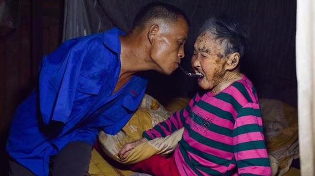 Chen Xingyin, Pria Tanpa Lengan Sangat Memuliakan Ibunya