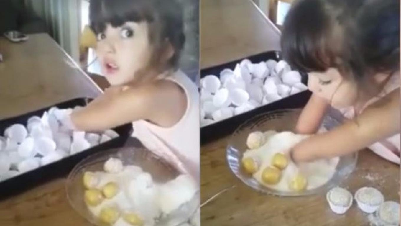 Gadis Cilik Difabel yang Jadi Koki Cilik