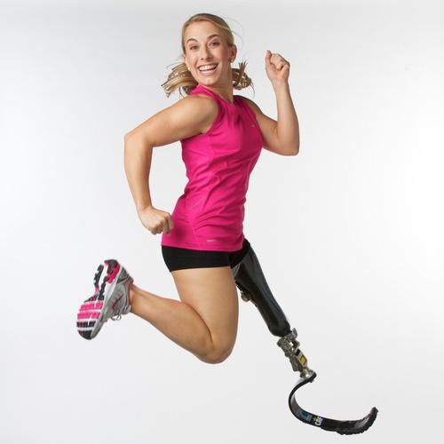 Sarah Reinertsen, Atlet Difabel Berprestasi