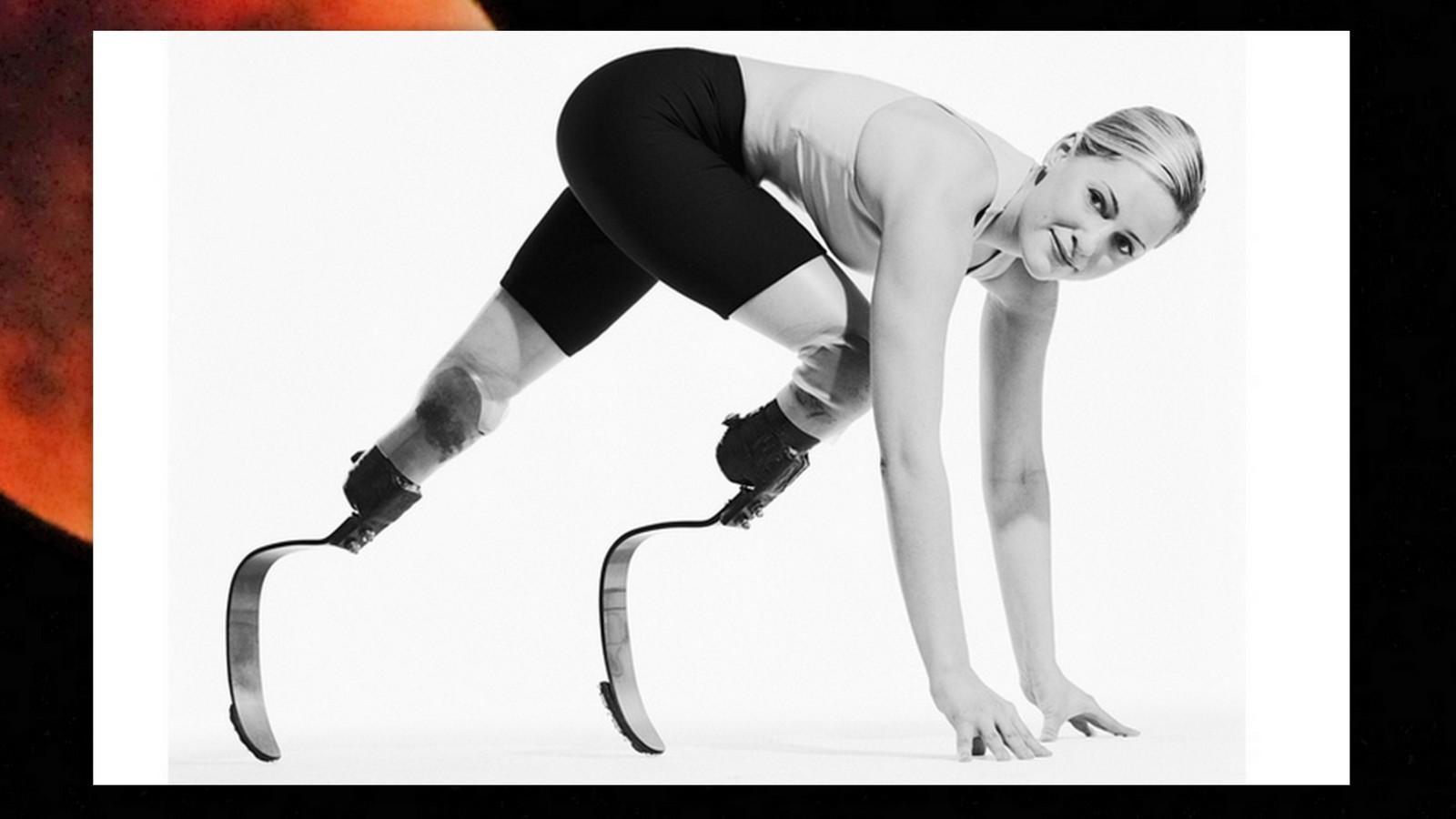 Aimee Mullins, Difabel Atlet Lari