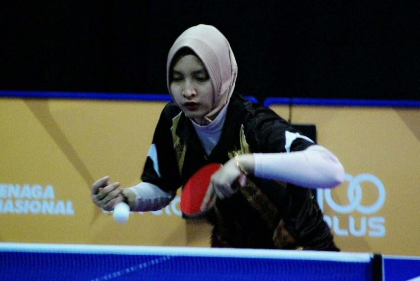 Sella Dwi Radayana,  Difabel Atlet Tenis Meja
