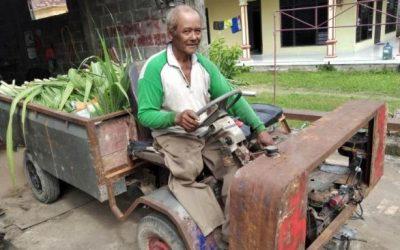 Kisah Subeki, Penyandang Disabilitas yang Rakit Kendaraan Sendiri