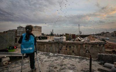Fatma, Gadis Suriah yang Kehilangan Satu Kaki