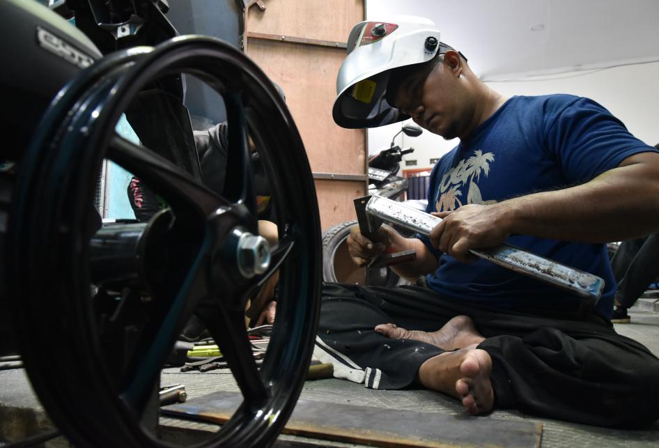 Taufik, Difabel Modifikasi Kendaraan Disabilitas