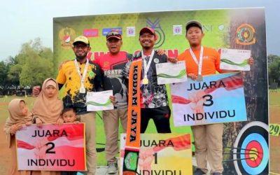 Kisah Kholidin, Tukang Bubur Difabel Juara Lomba Panahan
