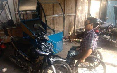 Triyono, Disabilitas yang Sukses Rintis Ojek Khusus Difabel
