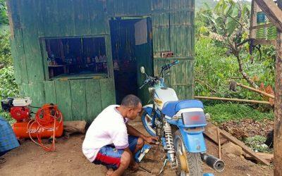 Stefanus Sai, Penyandang Disabilitas Buka Bengkel Motor