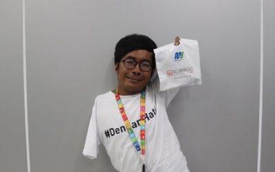 Vicente, Disabilitas yang Jadi Asisten Manajer