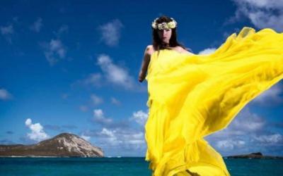Shaholly Ayers Model Tanpa Tangan Capai Kesuksesan
