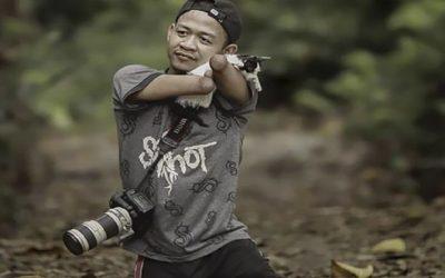 Bang Dzoel Fotografer Tanpa Tangan & Kaki