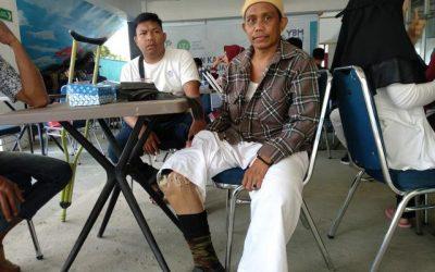 Rahman Penderita Kusta yang Berburu Kaki Palsu di Kendari