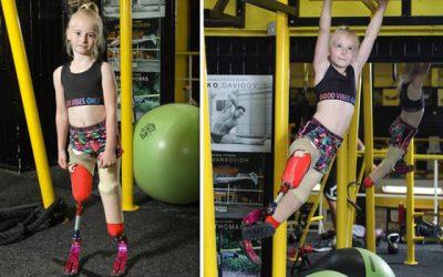 Daisy May Demetre Tak Punya Kaki Sukses Jadi Model Cilik