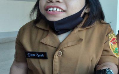 Dina Noach Gadis Disabilitas jadi Staf Khusus Gubernur NTT