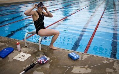 Melissa Stockwell Tanpa Kaki Kiri Jadi Atlet Renang