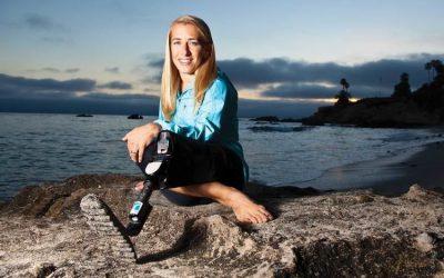 Sarah Reinertsen Dengan Satu Kaki Jadi Atlet Lari