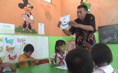 Guru PAUD Penyandang Disabilitas, Sriyono dari Blora