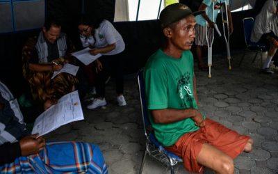 Tamam Disabilitas Asal Aceh Meniti Asa di Atas Kaki Palsu