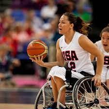 Alana Nichols Pemain Bola Basket Kursi Roda Paralimpiade Amerika Dan Pemain Ski Alpine