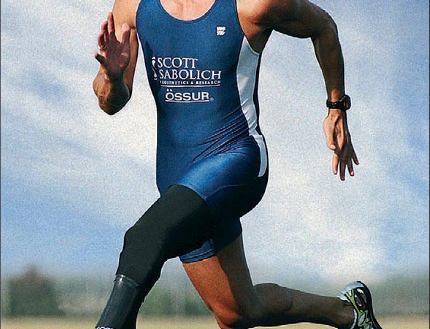 Marlon Shirley Seorang Atlet Paralimpiade Asal Amerika Serikat Yang Berlaga Terutama Di Ajang Kategori T44 Meskipun Kaki Kirinya Diamputasi Pada Usia Lima Tahun Setelah Kecelakaan Mesin Pemotong Rumput